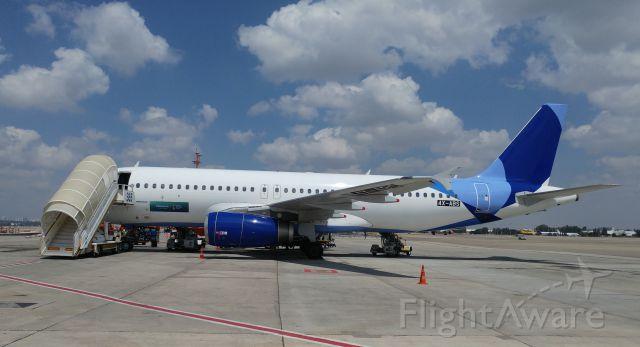 Airbus A320 (4X-ABS) - A320-200, ex 9V-TAF