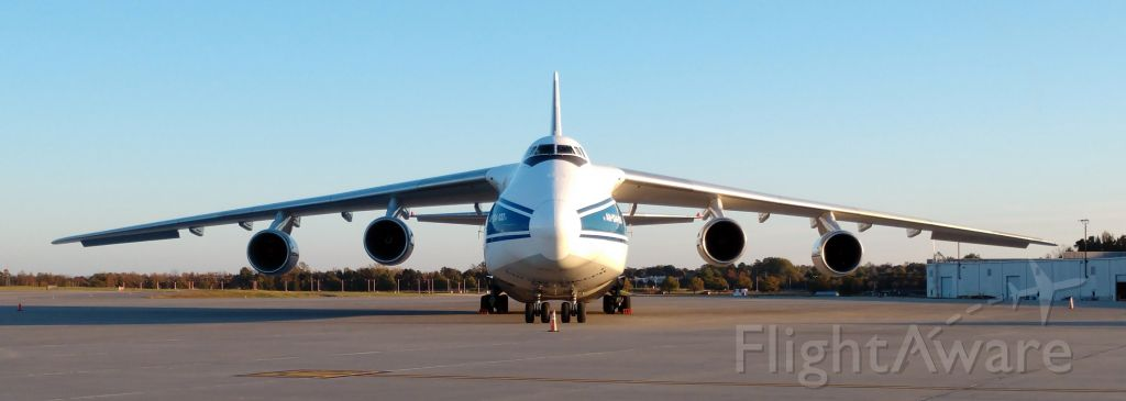 Antonov An-124 Ruslan (RA-82044) - Getting more common seeing these in CLT but always a site to see!<br /><br />11/17/18