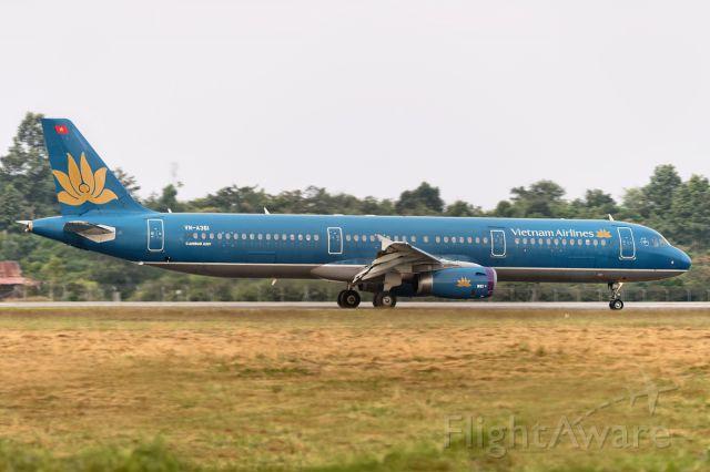 Airbus A321 (VNA361) - 24th Dec., 2014