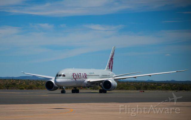 Boeing 787-8 (QTR1373) - Arriving in Windhoek