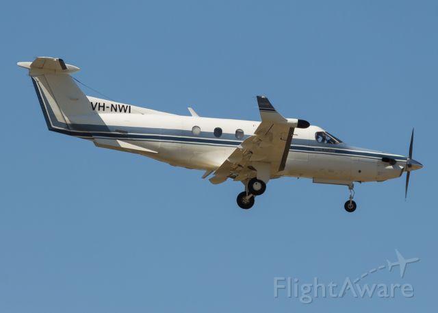 Pilatus PC-12 (VH-NWI)