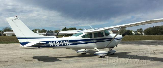 Cessna Skyhawk (N1841X) - First shot of this aircraft