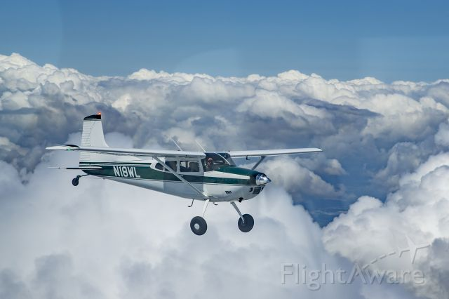 Cessna Skywagon 180 (N18WL) - Ferry flight to new home.