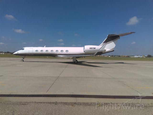 Gulfstream Aerospace Gulfstream V (N83M) - 3M jet