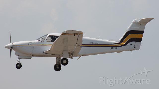 Piper Cherokee Arrow (N2155U) - Seen on 26 May 2018.