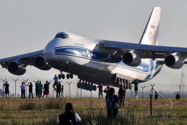 Antonov An-124 Ruslan (RA-82078) - PRG-KBL