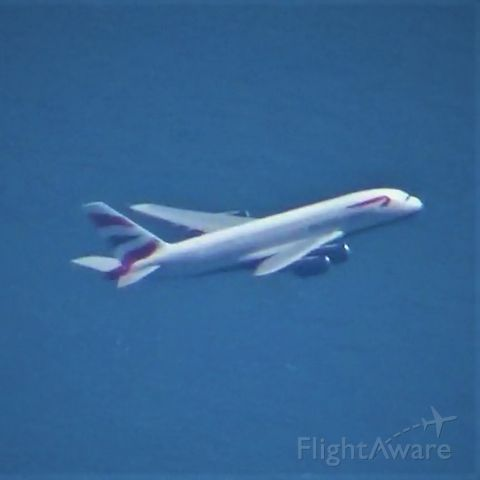 Airbus A380-800 (G-XLEE) - Taken on approach to LAX. It sure was a treat to watch this beauty takeoff air to air!