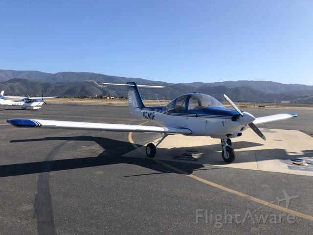 Piper Tomahawk (N240F) - Fuel