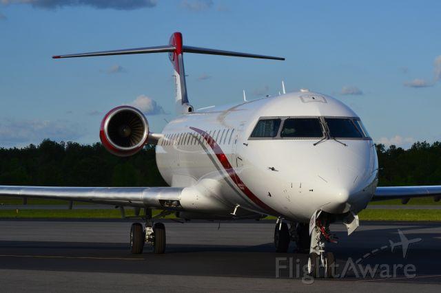 Canadair Regional Jet CRJ-700 (N520JG) - JOE GIBBS RACING INC, first of two CRJ7