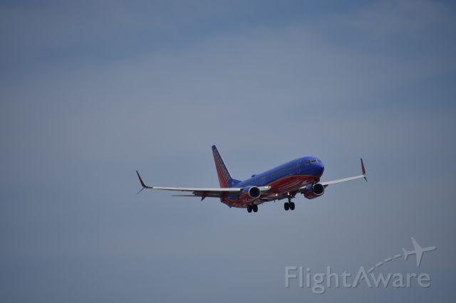 Boeing 737-800 (N8601C) - 100BG