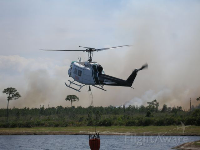 Bell UH-1V Iroquois (N124FC) - Forrest Service in Jensen Beach, FL