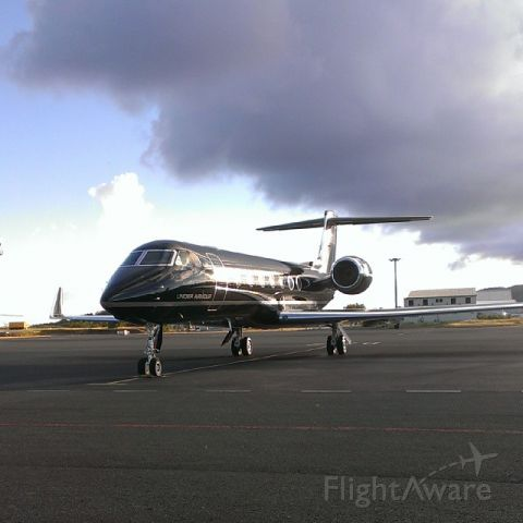 Gulfstream Aerospace Gulfstream V (N96UA) - ITS A G550 2012