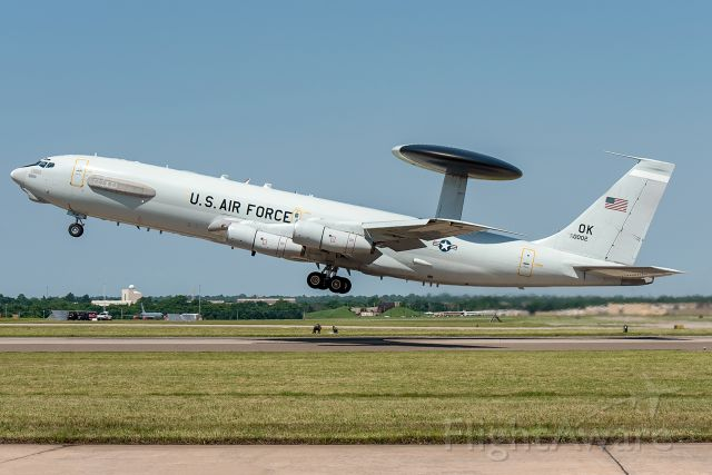 Boeing E-3F Sentry (79-0002) - 2019 Star Spangled Salute Air & Space Show at Tinker AFB, Oklahoma.