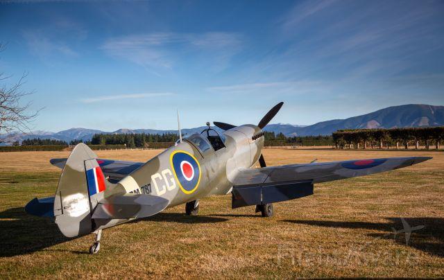 SUPERMARINE AIRCRAFT Spitfire Mk26 (ZK-CGV) - Loburn Abbey, NZLA.