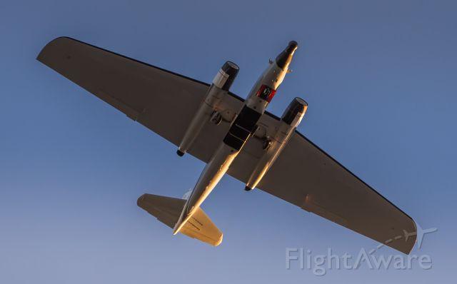 Martin WB-57 (N927NA) - A NASA WB-57F flies directly overhead EFD