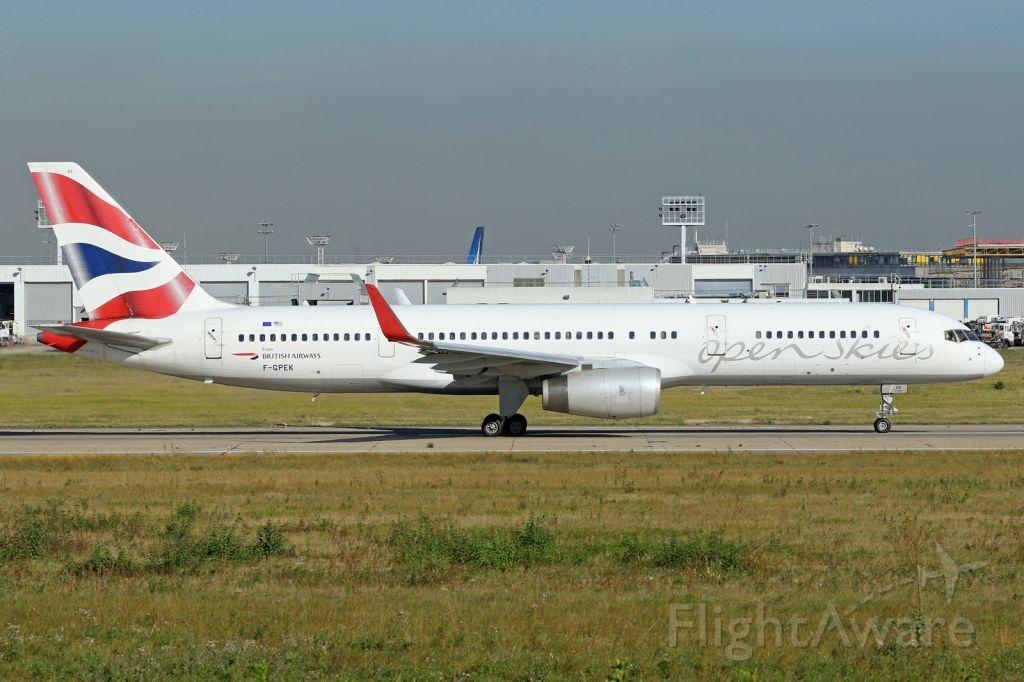 Boeing 757-200 (F-GPEK)