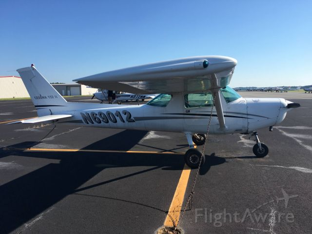 Cessna 152 (N69012) - Flight lesson day in this Cessna 152 (N69012) at Wings of Carolina Flying Club! July 28, 2020.