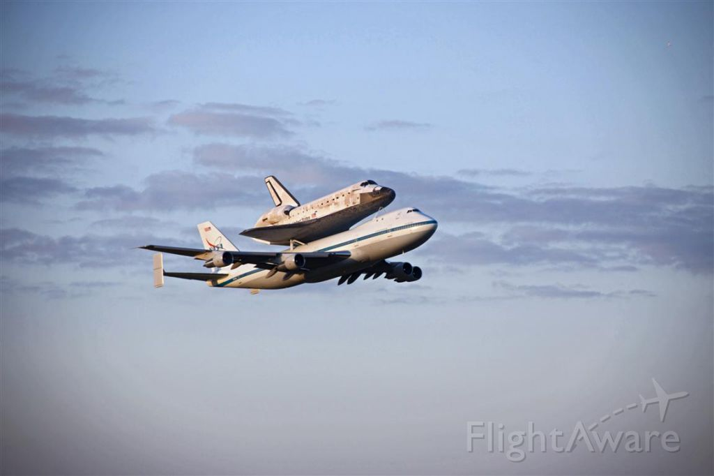 Boeing Shuttle Carrier (NASA905) - Ferry flight of OV103 to her permanent home at the Smithsonian.