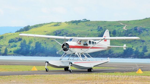 De Havilland Canada DHC-2 Mk1 Beaver (VH-AWI) - Amphibian Beaver at Hamilton Island, Qld.