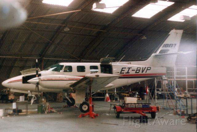 Cessna T303 Crusader (EI-BVP) - Seen here in Jul-92.  Reregistered N7079U 15-Oct-93 then N303TL.