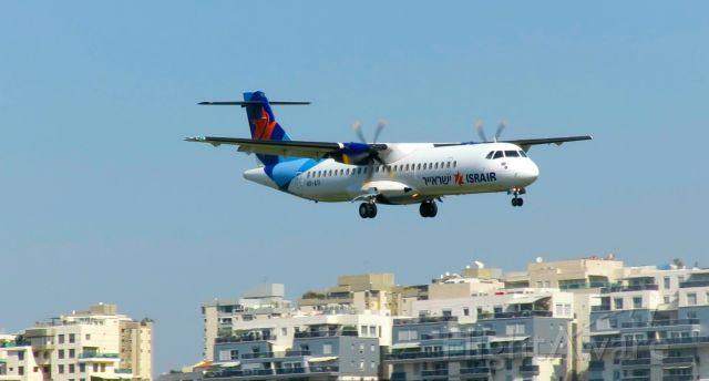 Aerospatiale ATR-42-300 (4X-ATI) - On final approach to Tel Aviv
