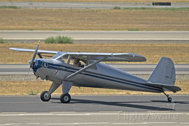 TEMCO Silvaire (N1003K) - Luscombe 8E at Livermore Municipal Airport, CA. August 2021.