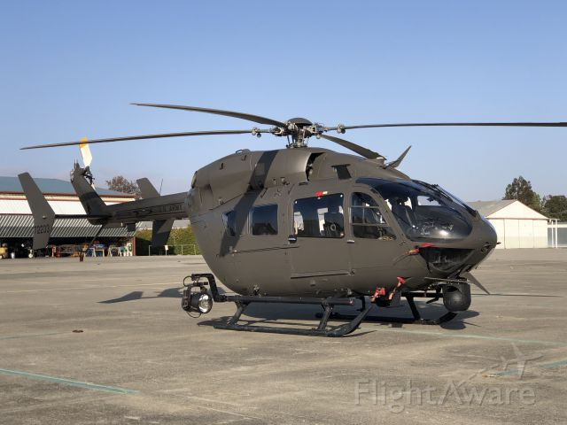 72233 — - Cool looking US Army Helicopter with lots of camera gear onboard - Eurocopter UH-72A Lakota