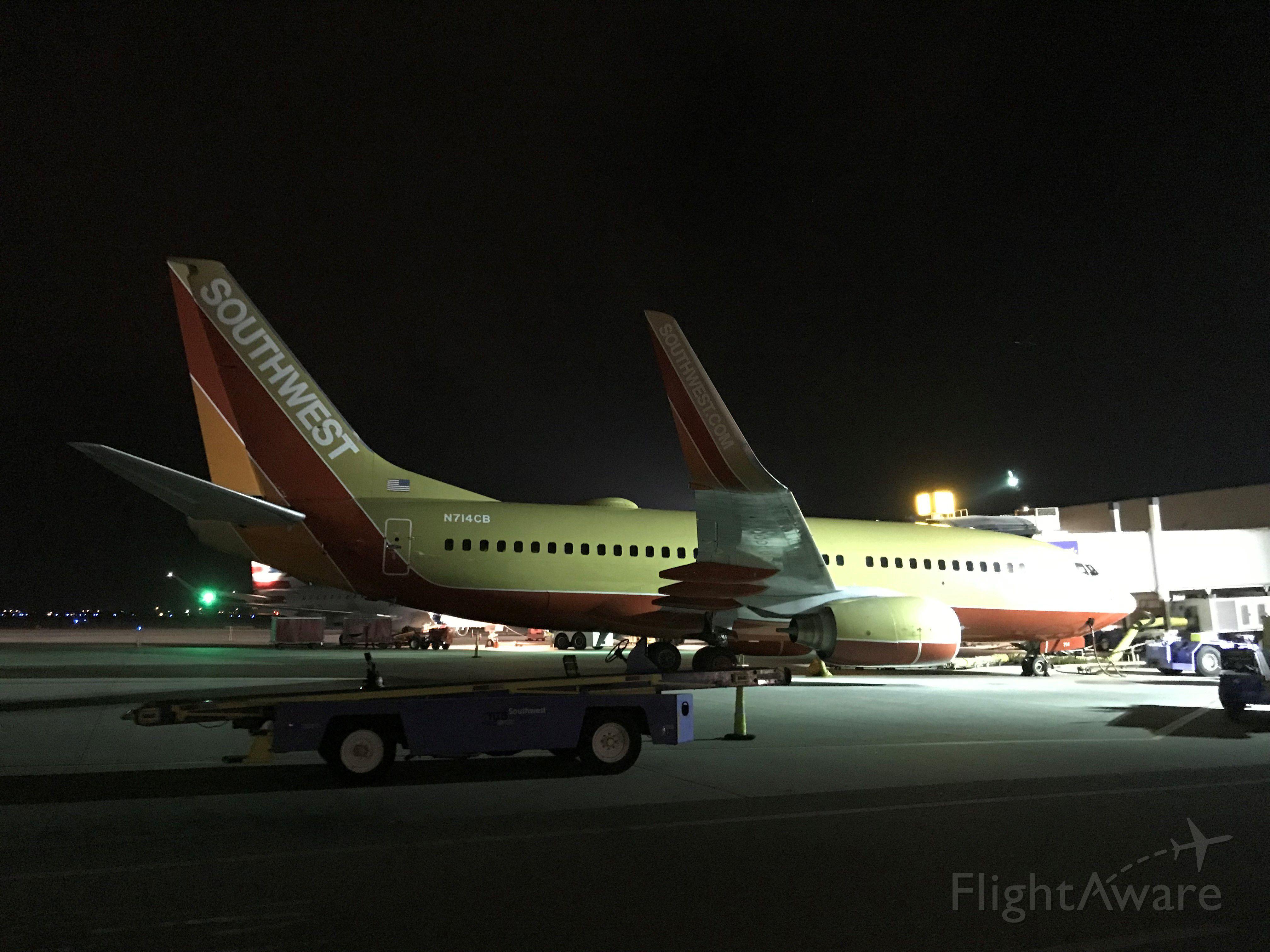 Boeing 737-700 (N714CB) - SWA Classic Livery