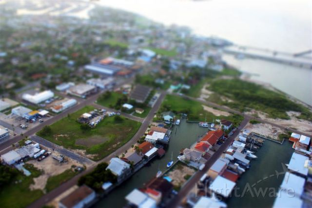 — — - Old Port Isabel Tx. taken at 1000 ft. coming back from South Padre Island.