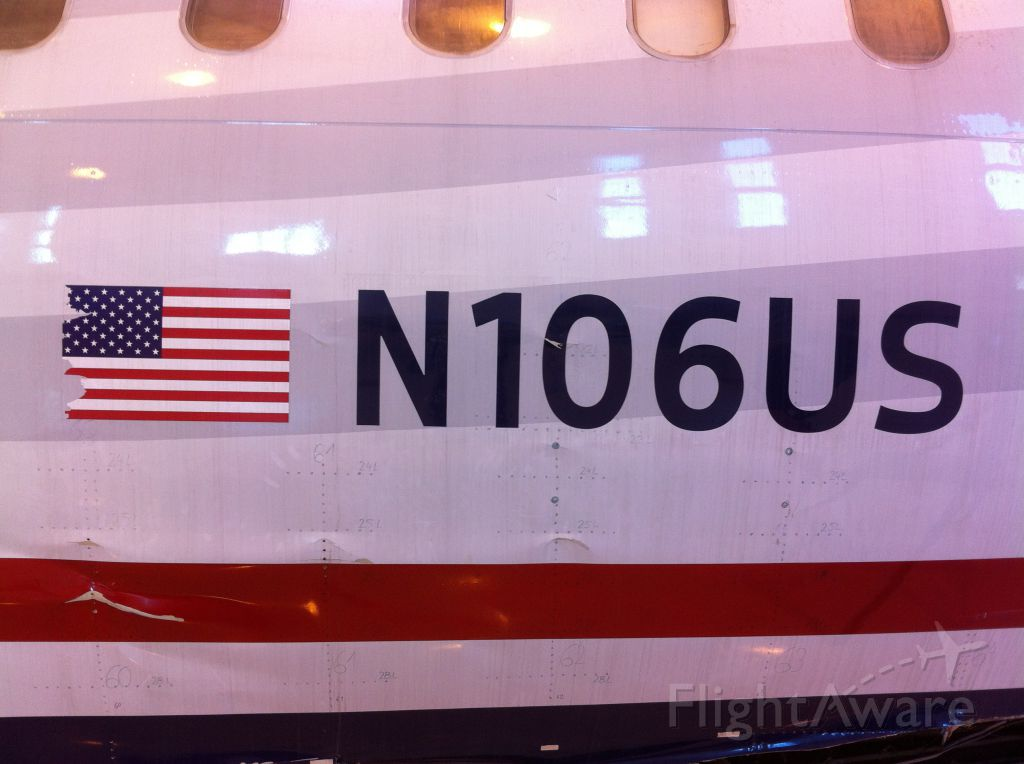 Airbus A320 (N106US)