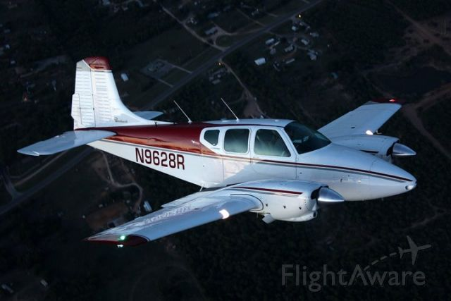 Beechcraft Travel Air (N9628R) - Photo shot by Red Wing Aerials