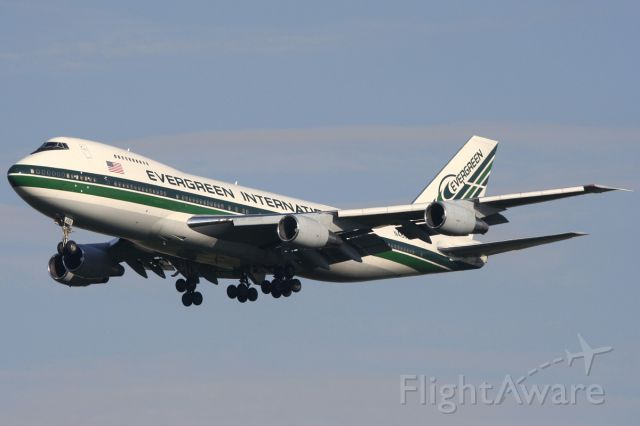 Boeing 747-200 (N488EV) - Oct. 12, 2007.