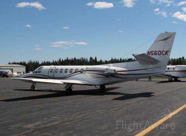 Cessna Citation V (N560CH)