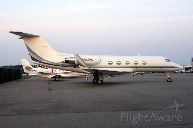 Gulfstream Aerospace Gulfstream 3 (N982RK) - 18-Jul-07