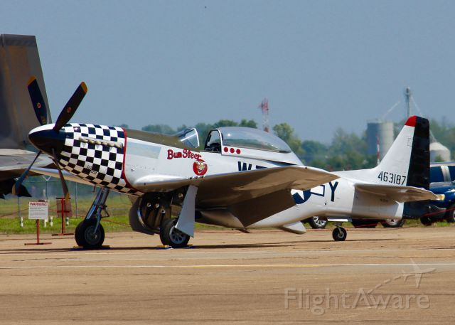 TITAN T-51 Mustang (N20TF) - At Barksdale Air Force Base. North American TF-51D.