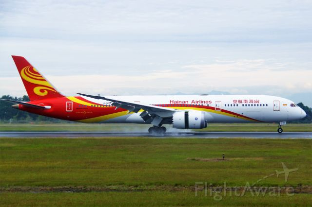 Boeing 787-9 Dreamliner (B-7880) - TIPS: Select full-size and wait for a while for better view.