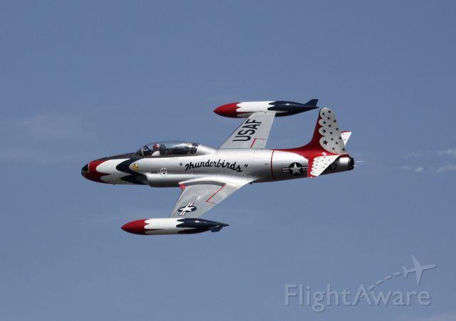 Lockheed T-33 Shooting Star (N556RH) - Tyndall AFB, Florida