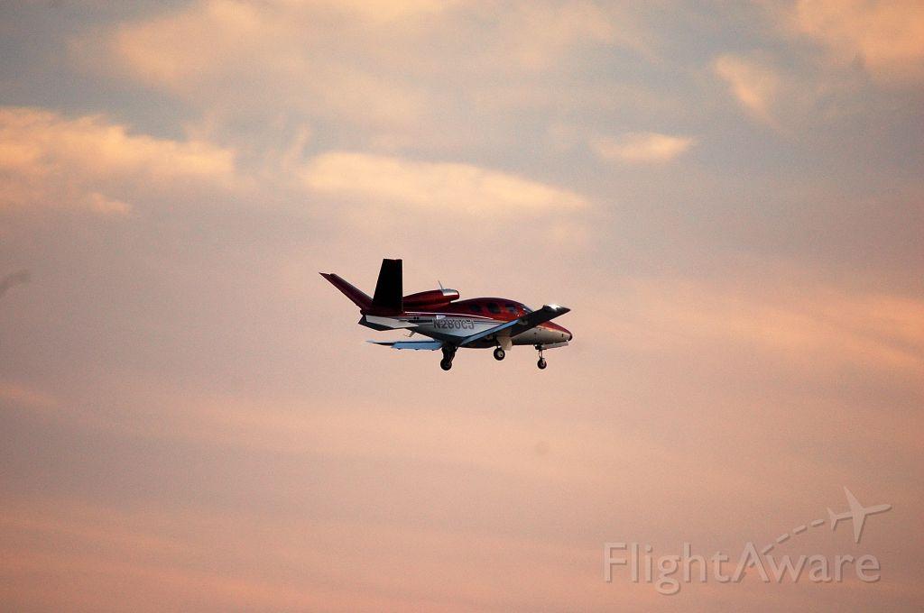 N280CJ — - Fly-by at KRDU