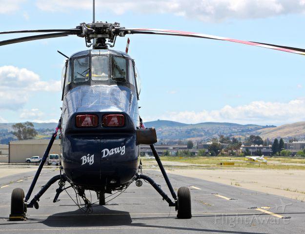 """Sikorsky S-58T (N58AH) - Come at me """"Big Dawg""""."""