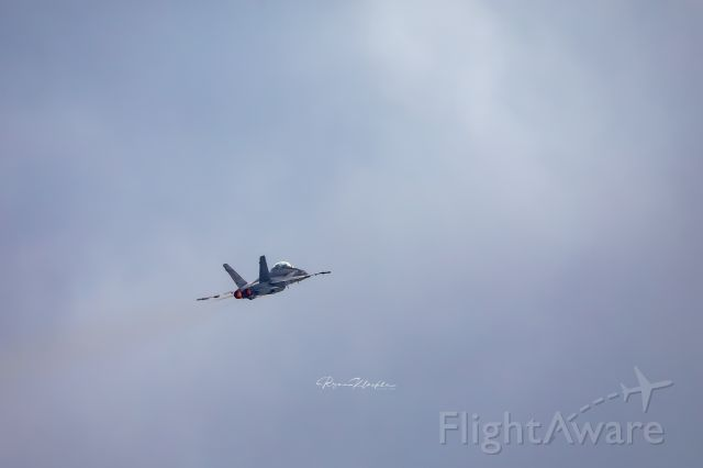 16-4656 — - An F/A-18D Legacy Hornet departs KGRR