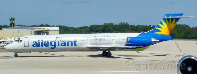 McDonnell Douglas MD-87 (N949MA) - Taken April of 2009 on my way home from the Kennedy Space Center open house.
