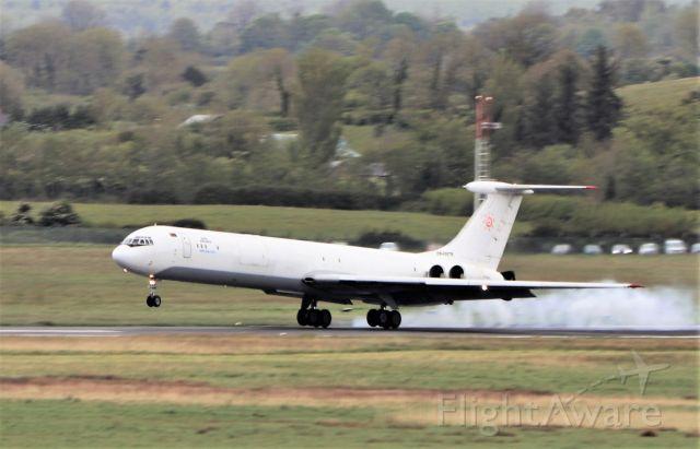 Ilyushin Il-62 (EW-450TR) - rada airlines il-62mgr ew-450tr landing at shannon from dakar 10/5/21.