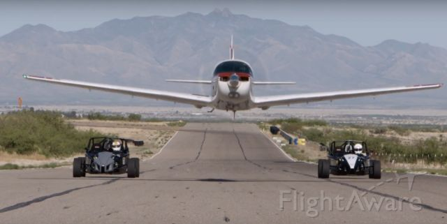 N3699H — - Mooney down the straight at INDE Motorsports Ranch / 93AZ