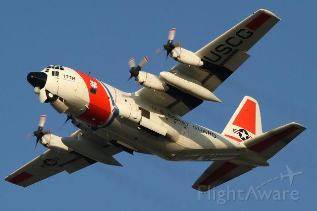 Lockheed C-130 Hercules (N1718) - Practicing touch and go at Sarasota (KSRQ)