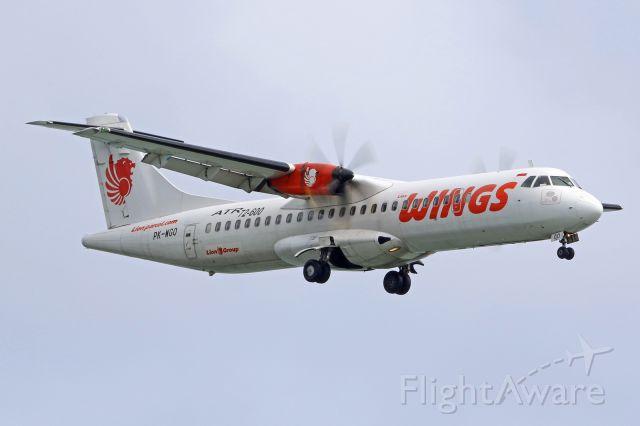 Aerospatiale ATR-72-600 (PK-WGO)