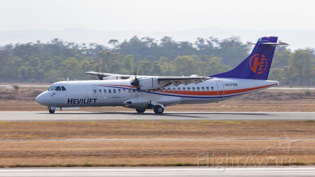 ATR ATR-72 (VH-FVM)