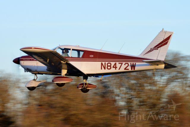 Piper Cherokee (N8472W) - Infinite Air Center's Cherokee working the pattern via Runway 34.
