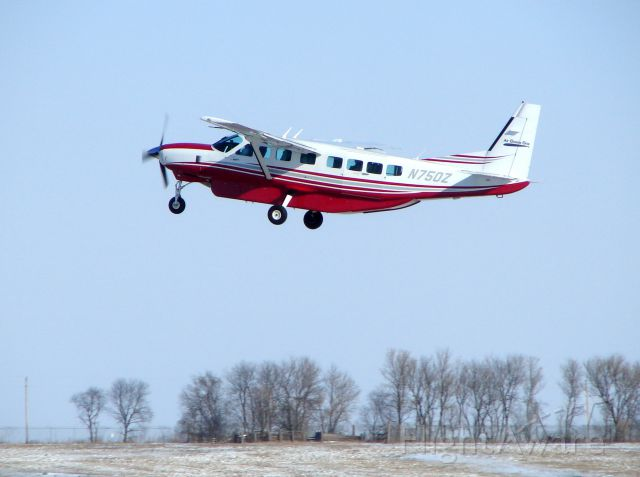 Cessna Caravan (N750Z) - Air Choice One Departing Mason City