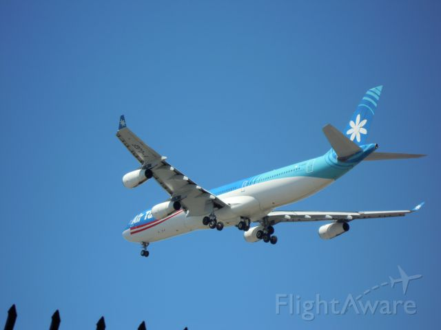 Airbus A340-300 — - AIR TAHITI NUI A340-300 LAX