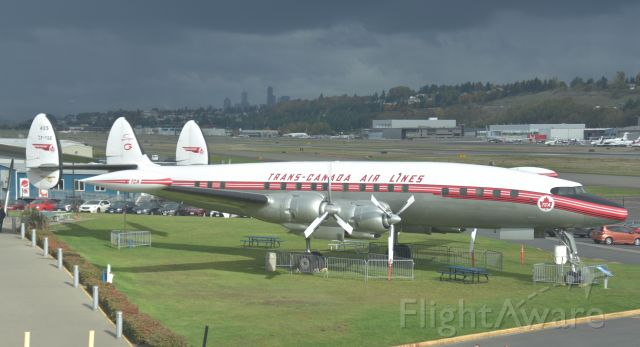 C-FTGE — - Originally delivered to TCA in May 1954